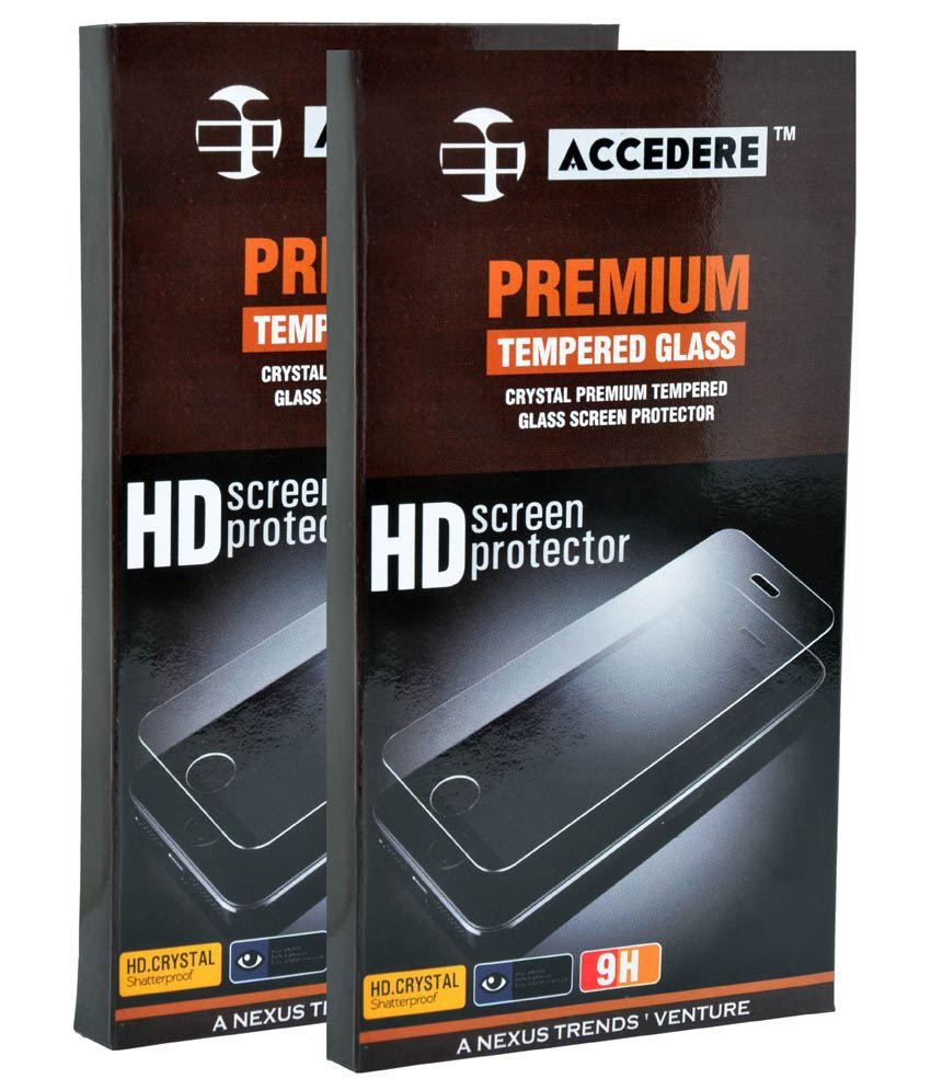 Samsung Galaxy Grand Max Tempered Glass Screen Guard by Accedere
