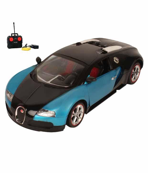 toynation bugatti veyron 1 16 rc model car blue buy. Black Bedroom Furniture Sets. Home Design Ideas