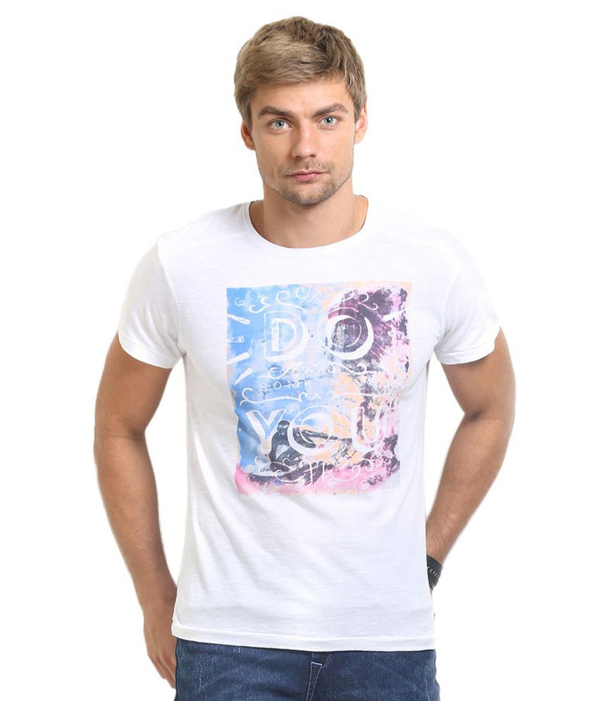HW White Cotton T-Shirt
