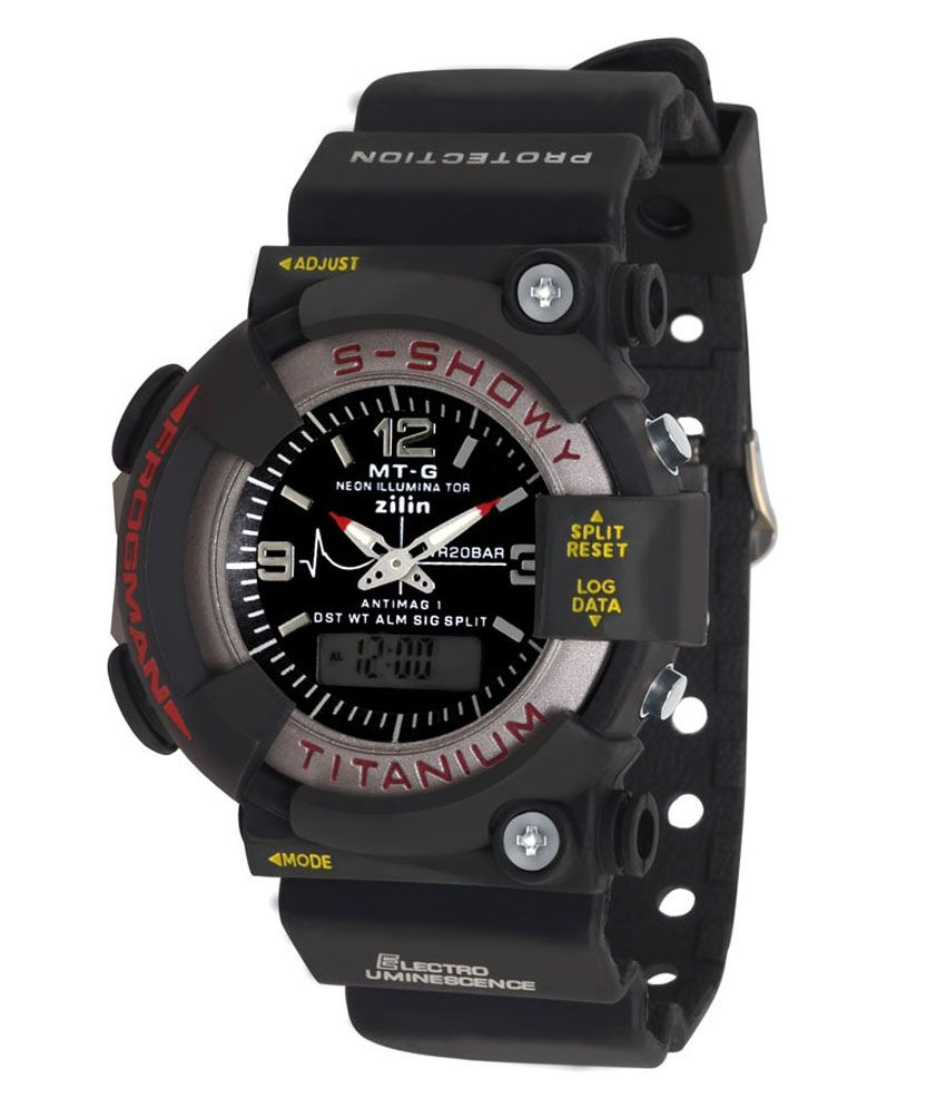 SVM Black Analog Digital Watch available at SnapDeal for Rs.313