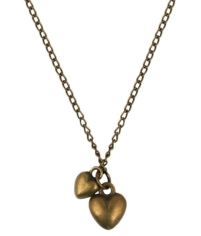 Jewelizer Multicolour Contemporary Alloy Necklace