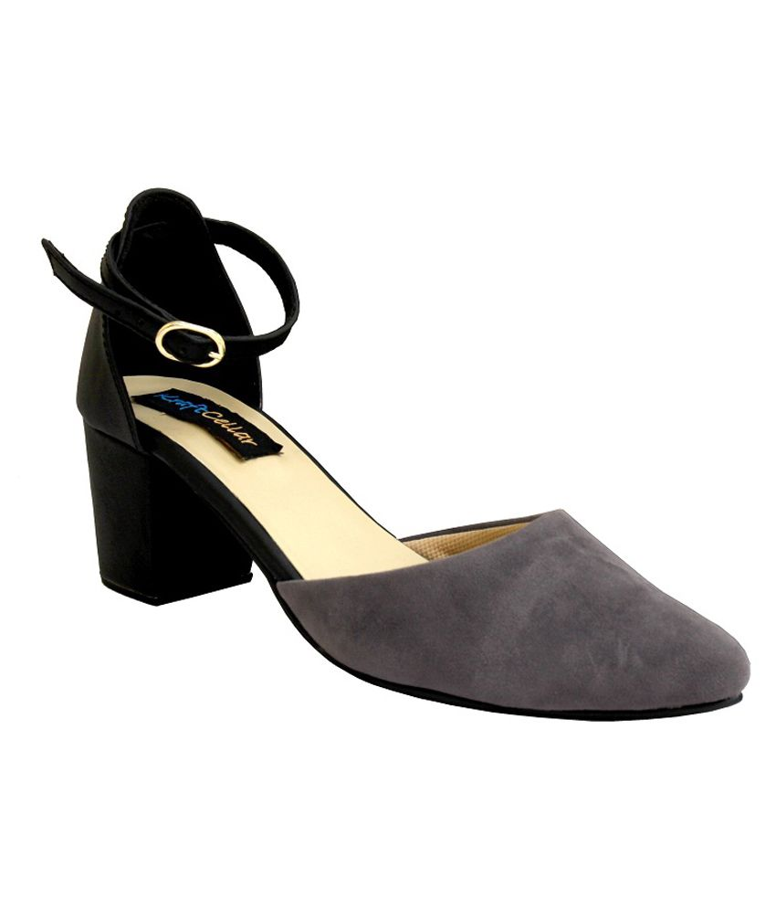 Kraft Cellar Grey Heeled Sandals