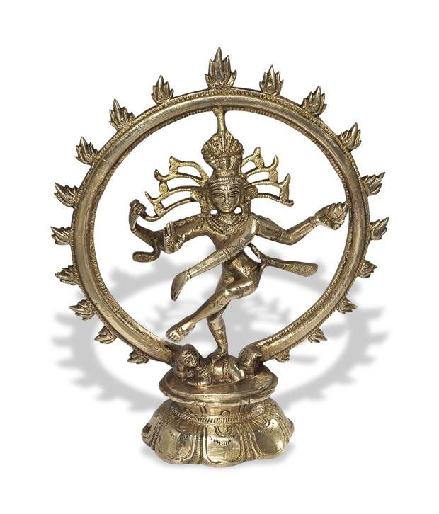 DakshCraft Brown Brass Religious Idols