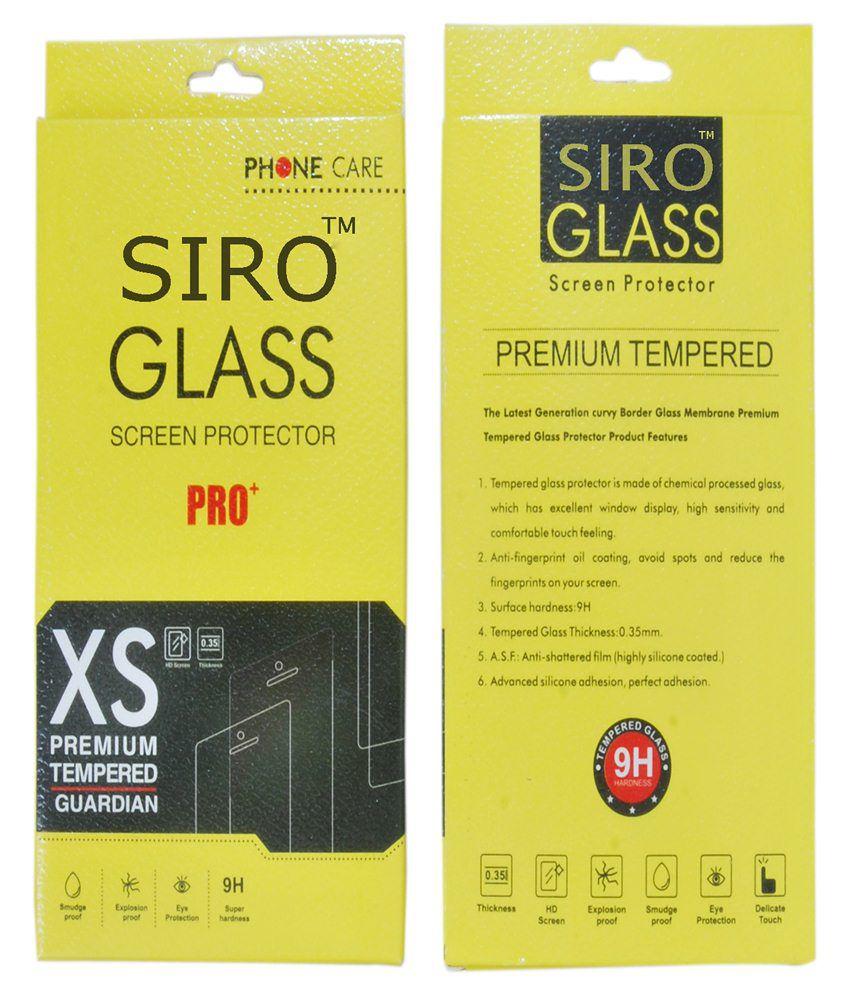 Panasonic P41 Tempered Glass Screen Guard by Siro