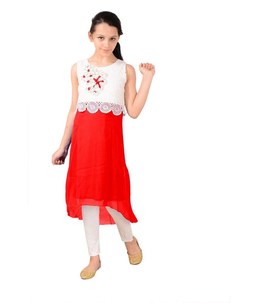 Aarika Girls' Party wear Dresses