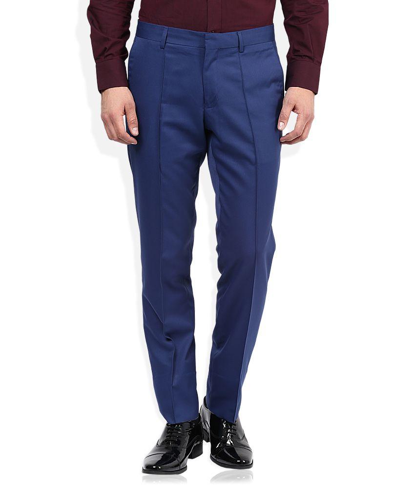 John Players Blue Formal Trouser