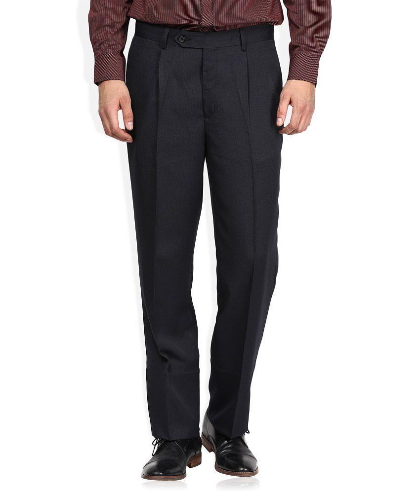 John Players Navy Formal Trouser