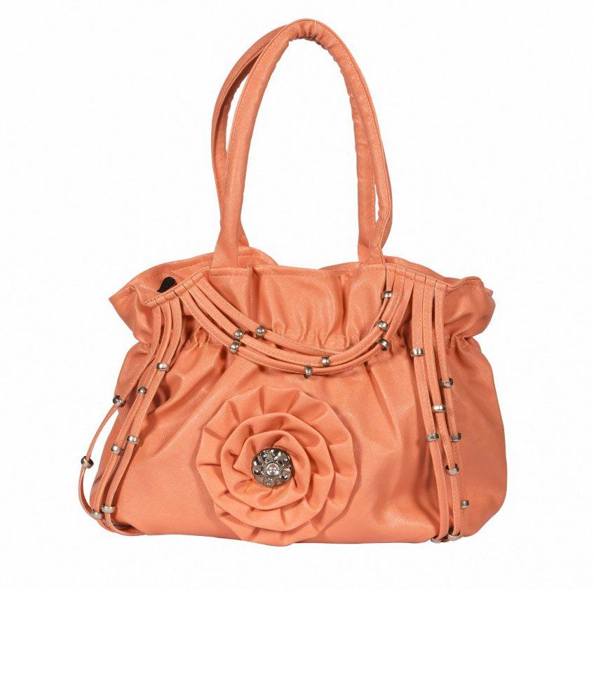 APE Orange Shoulder Bag
