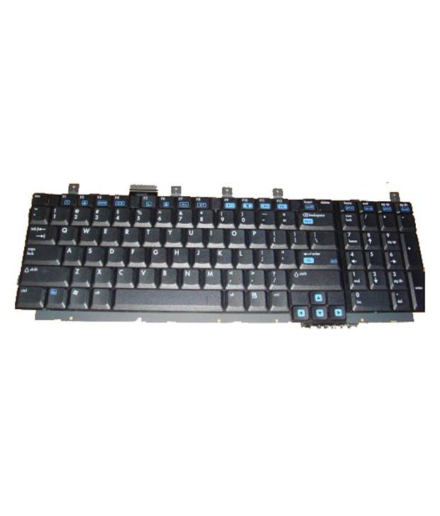 4D hp-dv-8000 Black Wireless Replacement Laptop Keyboard Keyboard