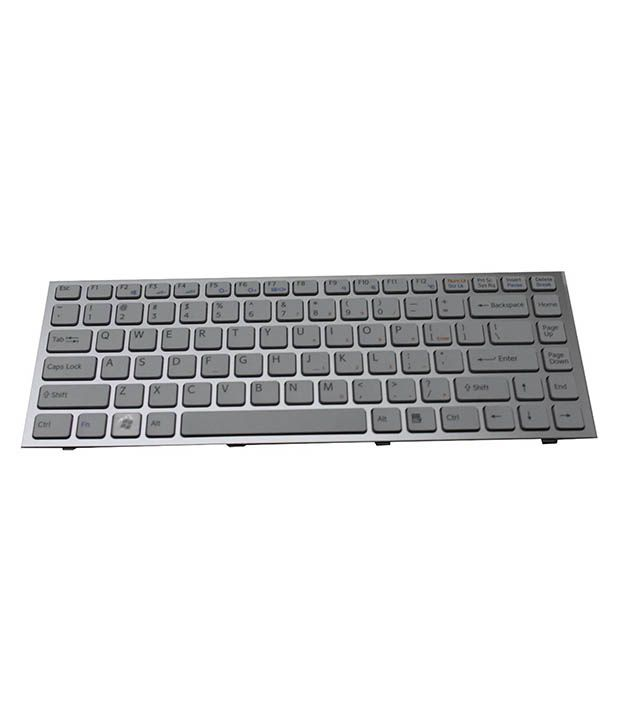 4D sony-s-series White Wireless Replacement Laptop Keyboard Keyboard