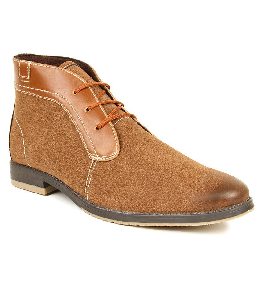 Alpes Martin Tan Boot