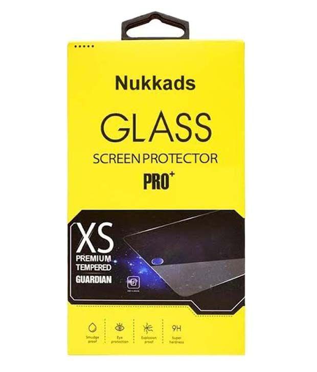 INTEX Aqua Trend Tempered Glass Screen Guard by Nukkads