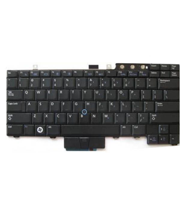 4D dell-e5400 Black Wireless Replacement Laptop Keyboard Keyboard