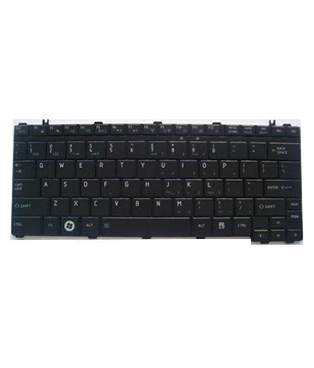4D toshiba-u500 Black Wireless Replacement Laptop Keyboard Keyboard