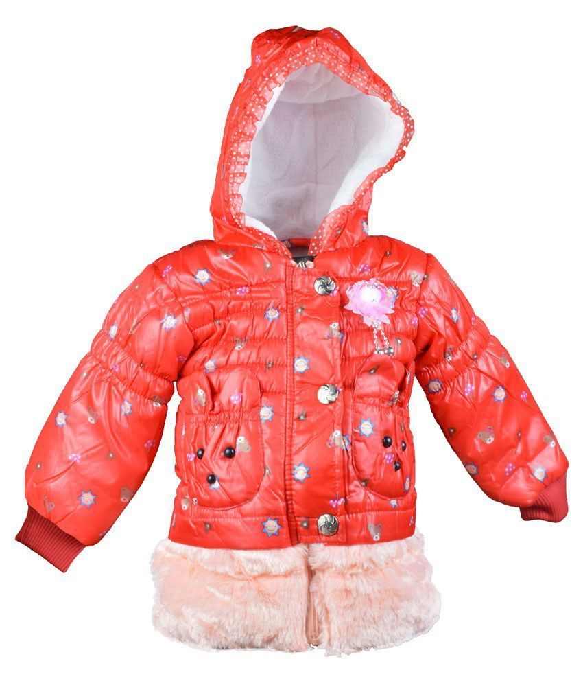 Baby Doll Orange Jacket