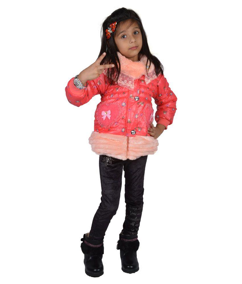 Baby Doll Peach Jacket