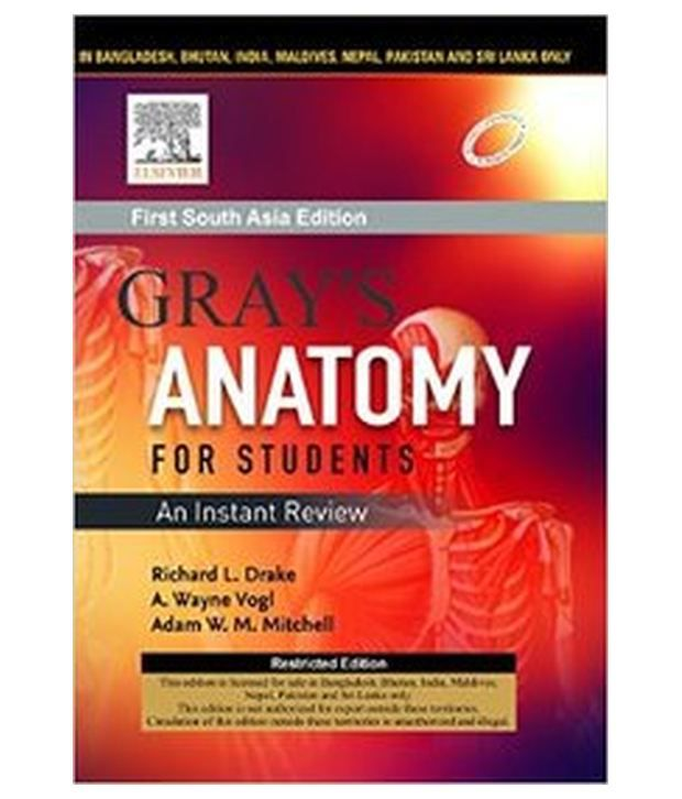 Grays Anatomy For Students An Instant Review 1st South Asia
