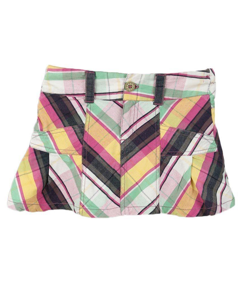 Lilliput Multi Cotton Skirt