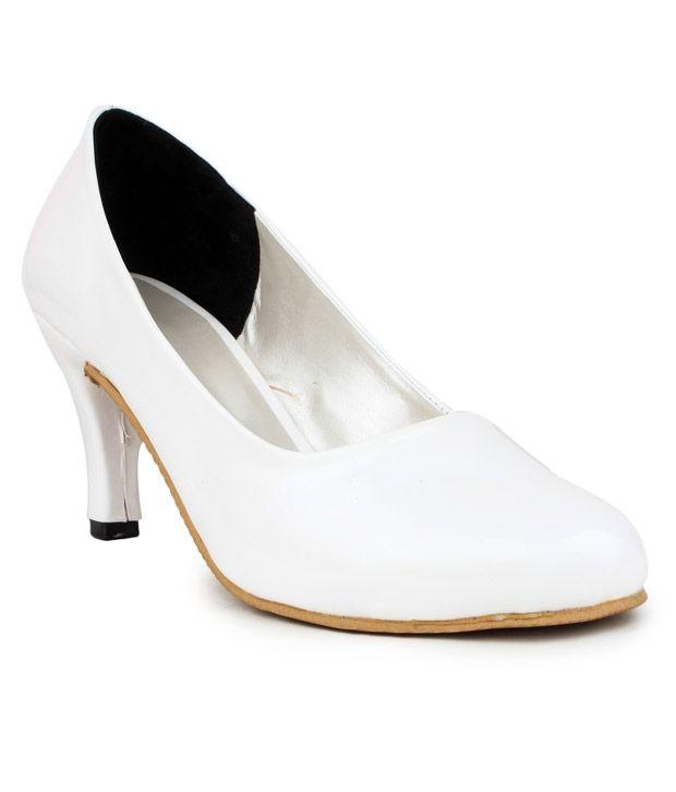 Addo White Stiletto Heels