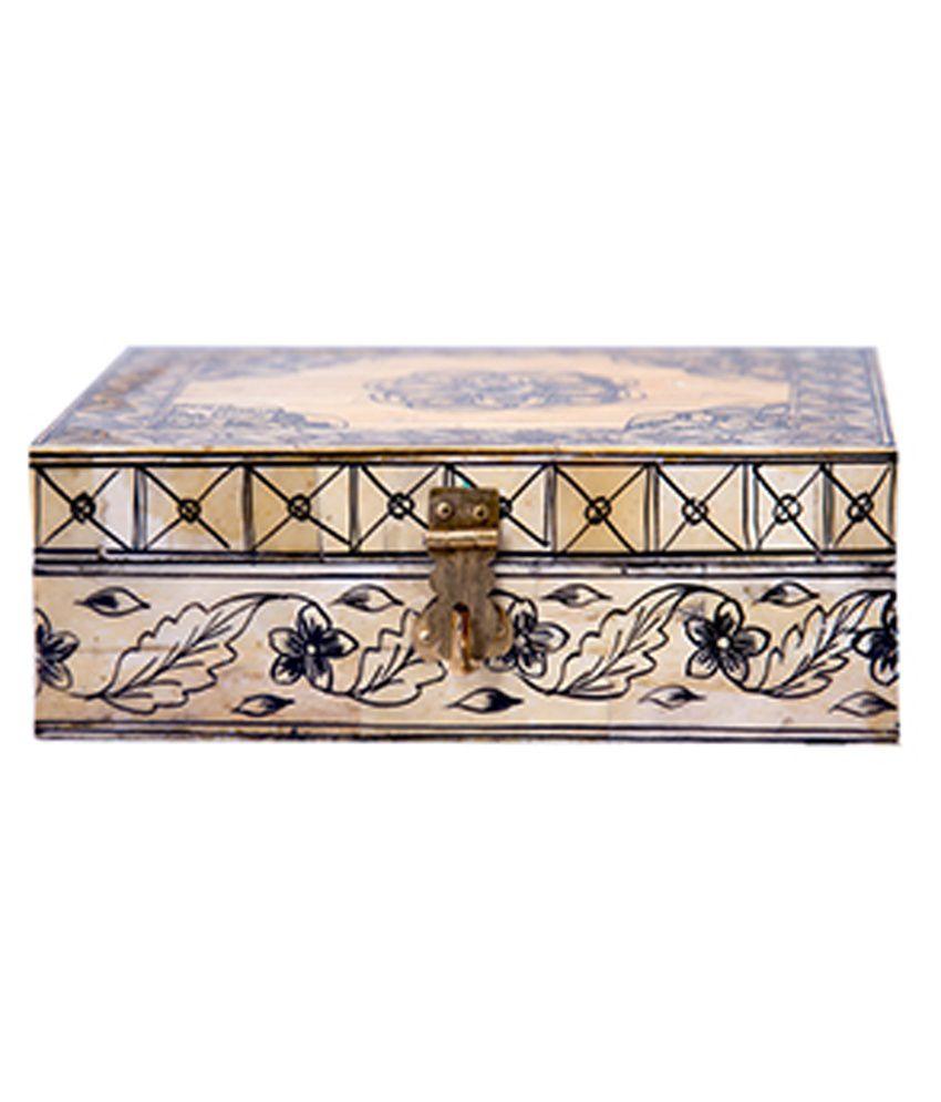 Petrelplus Wooden Painted Jewellery Box