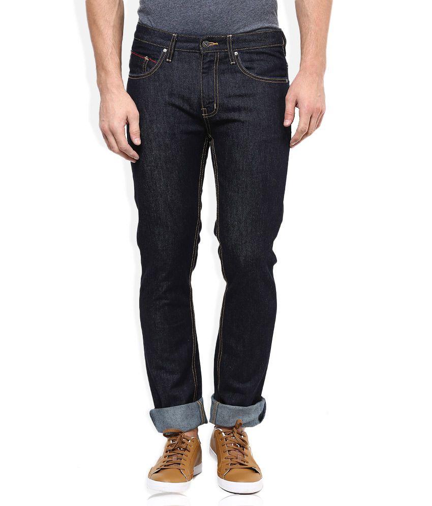 Puma Blue Regular Fit Jeans