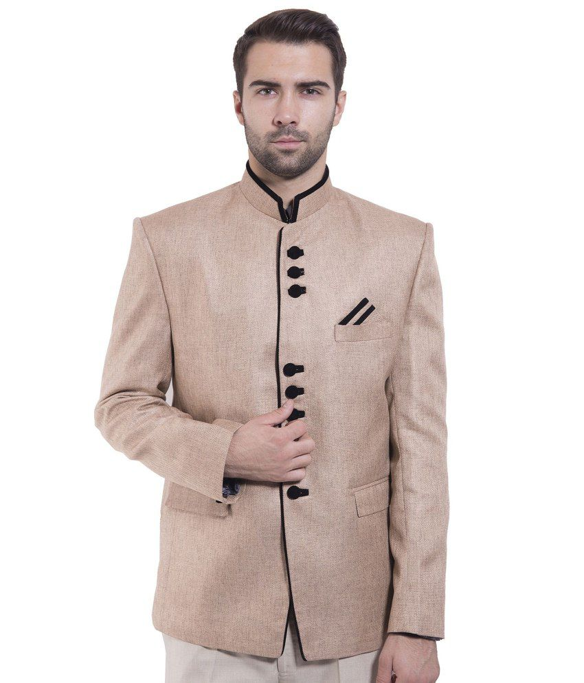 Wintage Brown festive Blazer