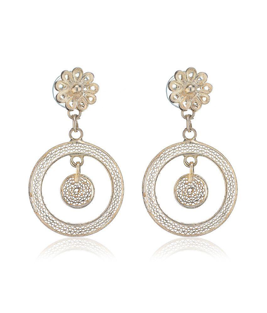 Aarohee 92.5 Sterling Silver Traditional Hangings