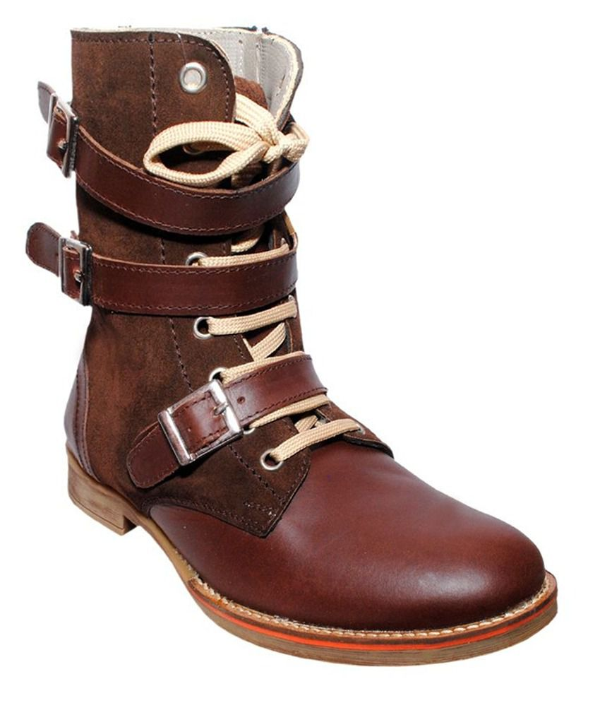 Buy De Moda Brown Safety Shoes Online At Low Price In India - Snapdeal