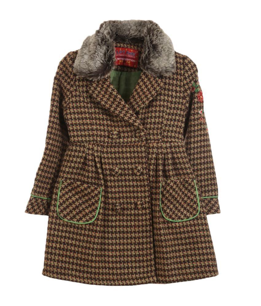 Lilliput Green Viscose Coat