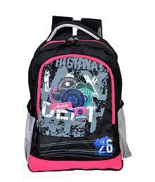 Avon Highway Patrol Black & Pink Waterproof Backpack