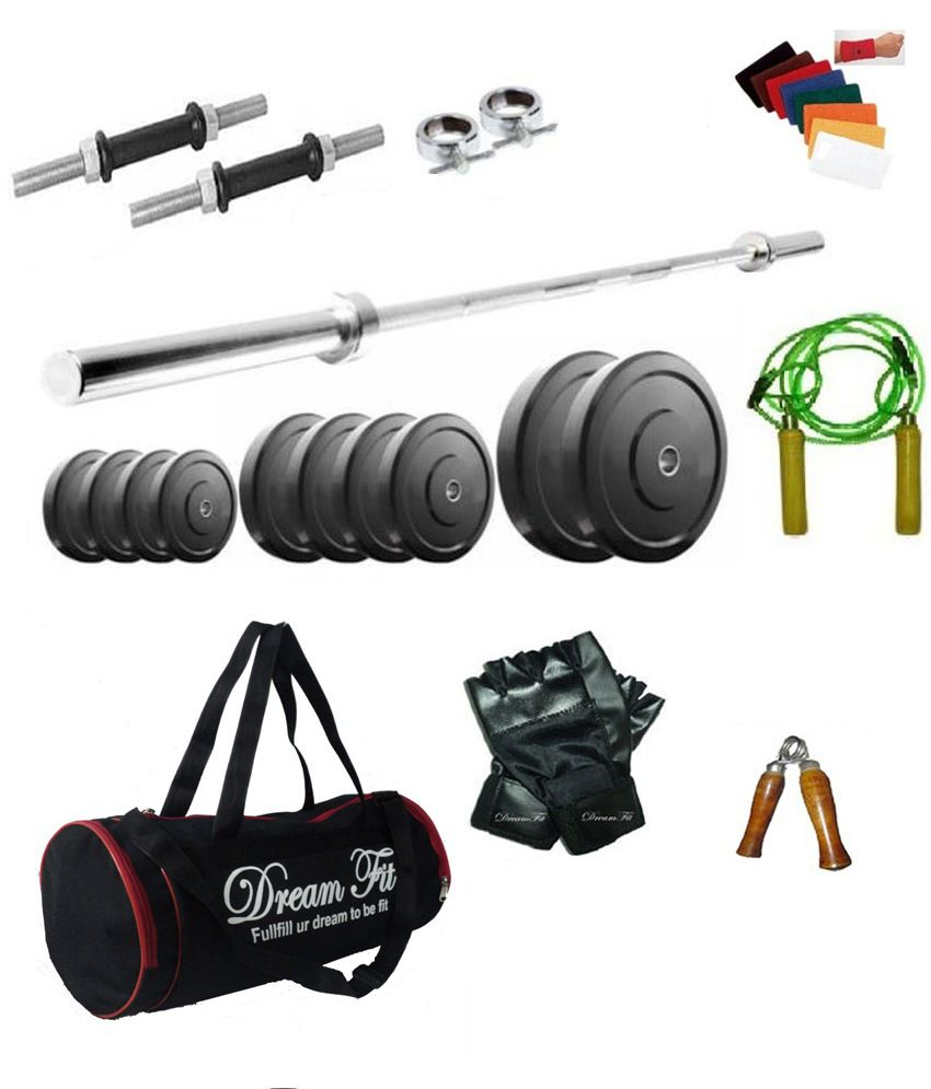 Dreamfit kg home gym with rods bag and