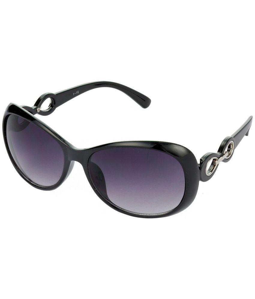 Hrinkar Gray Large Unisex Oversized Sunglasses
