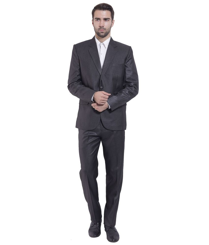 Wintage Black Formal Suits