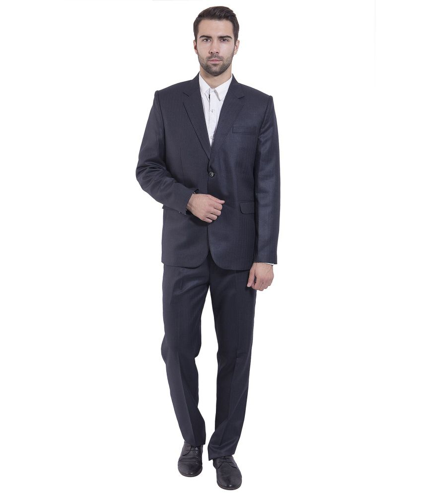 Wintage Blue Formal Suits