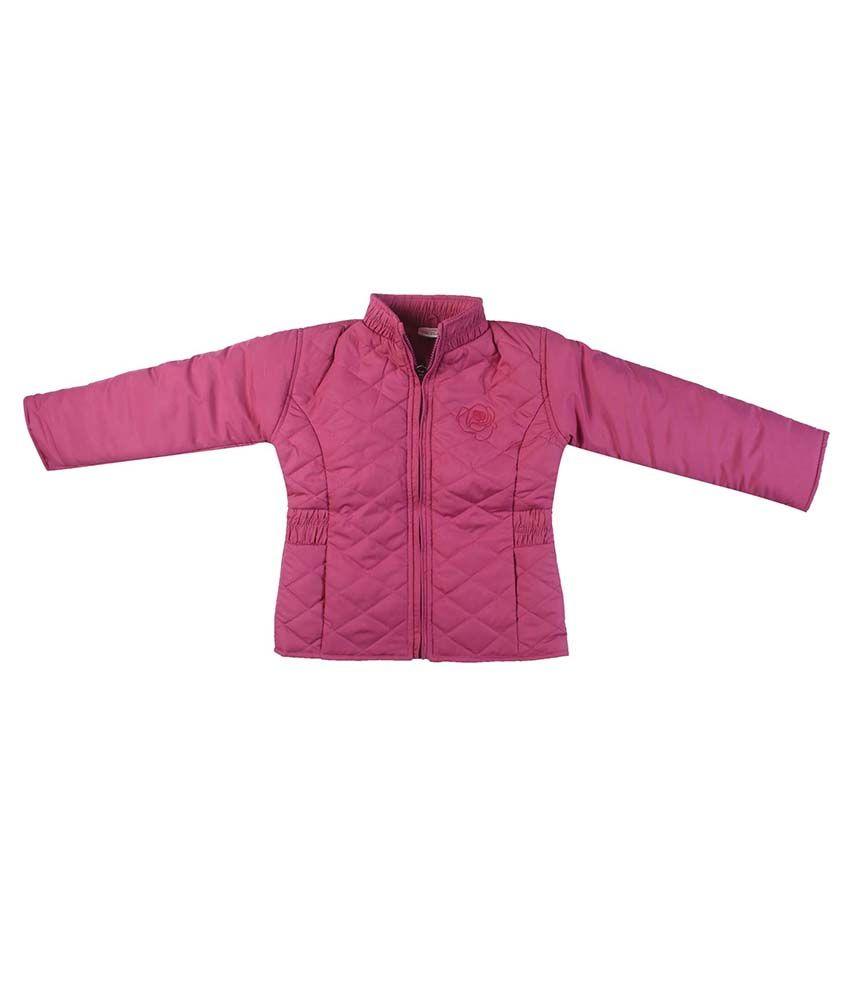 FS MiniKlub Pink Nylon High Neck Jacket