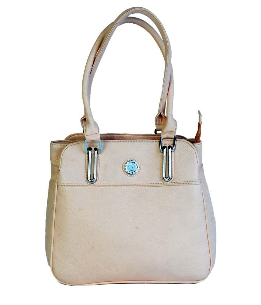 Slave Of Vogue White Shoulder Bag