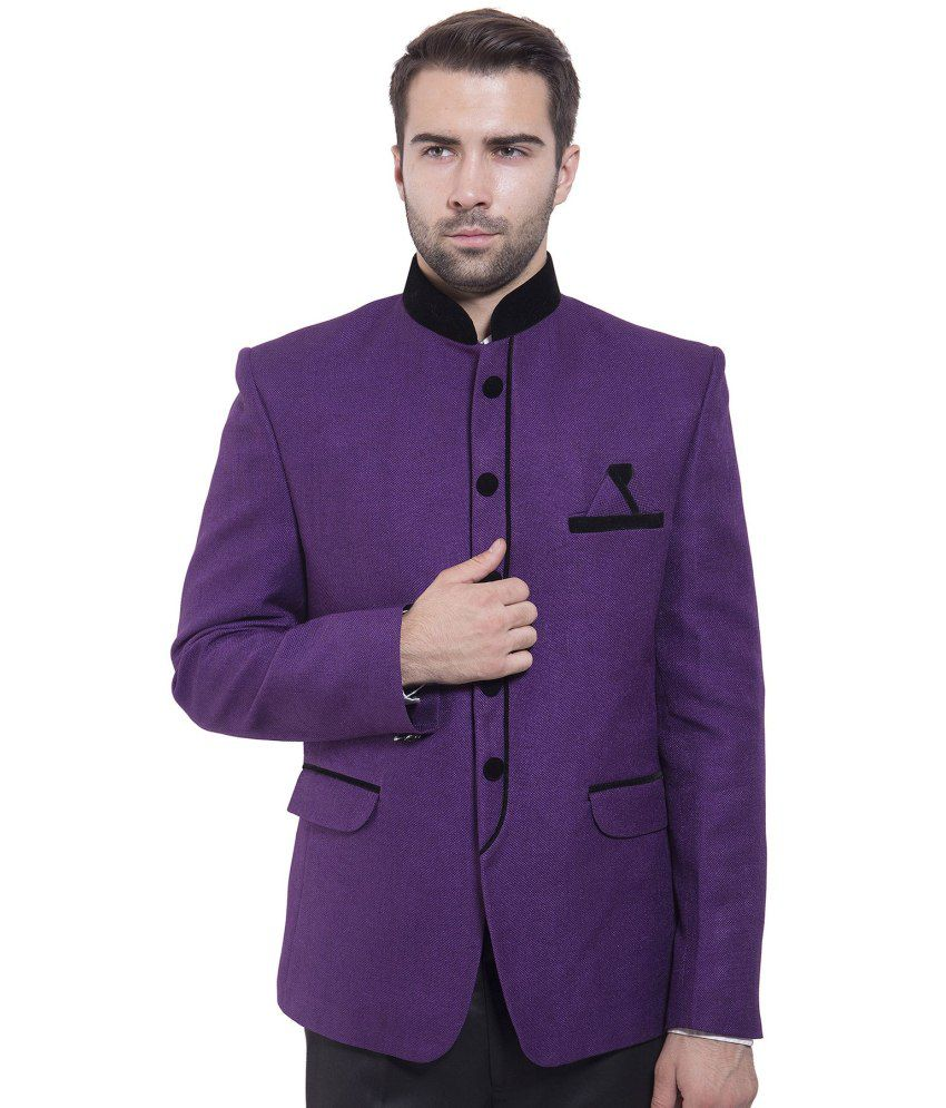 Wintage Purple festive Blazer