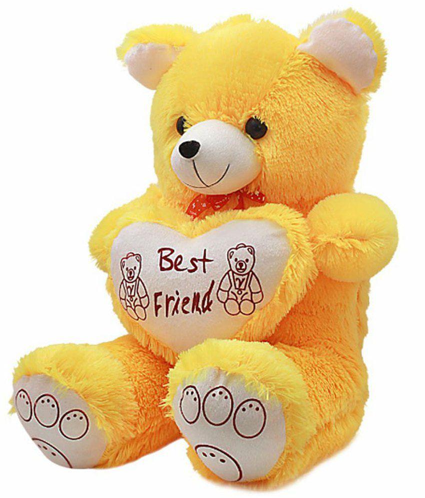 jumbo yellow teddy bear 60 cm 2 feet buy jumbo yellow teddy