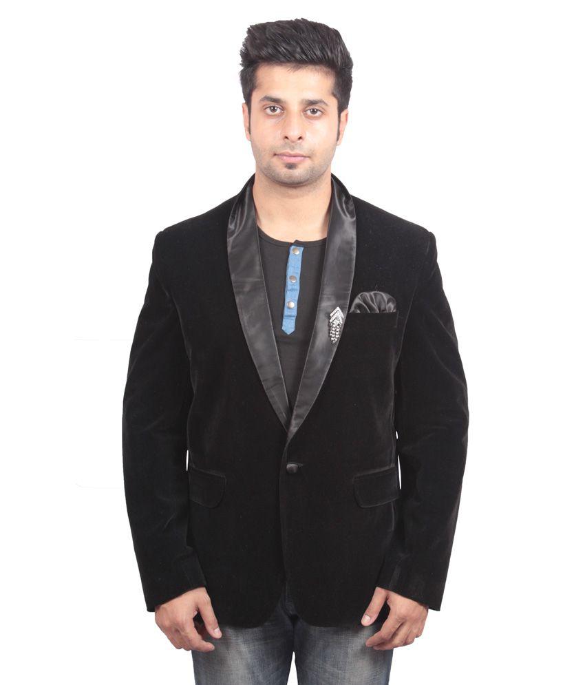 Shaurya-F Black Festive Blazer