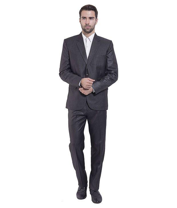 Wintage Black Poly Blend Suit