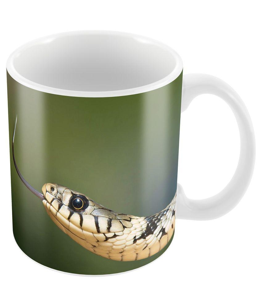 Prinzox Ceramic Mug Snake photography