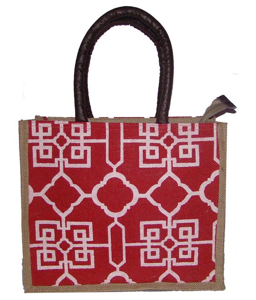Foonty Tote Women Printed Lunch Bag (fjuwb6219)
