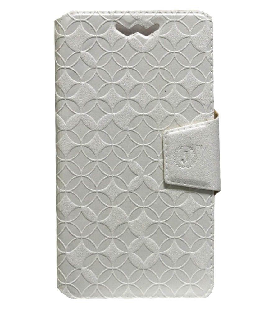 Jo Jo Flip Cover For LG G3 Stylus - White