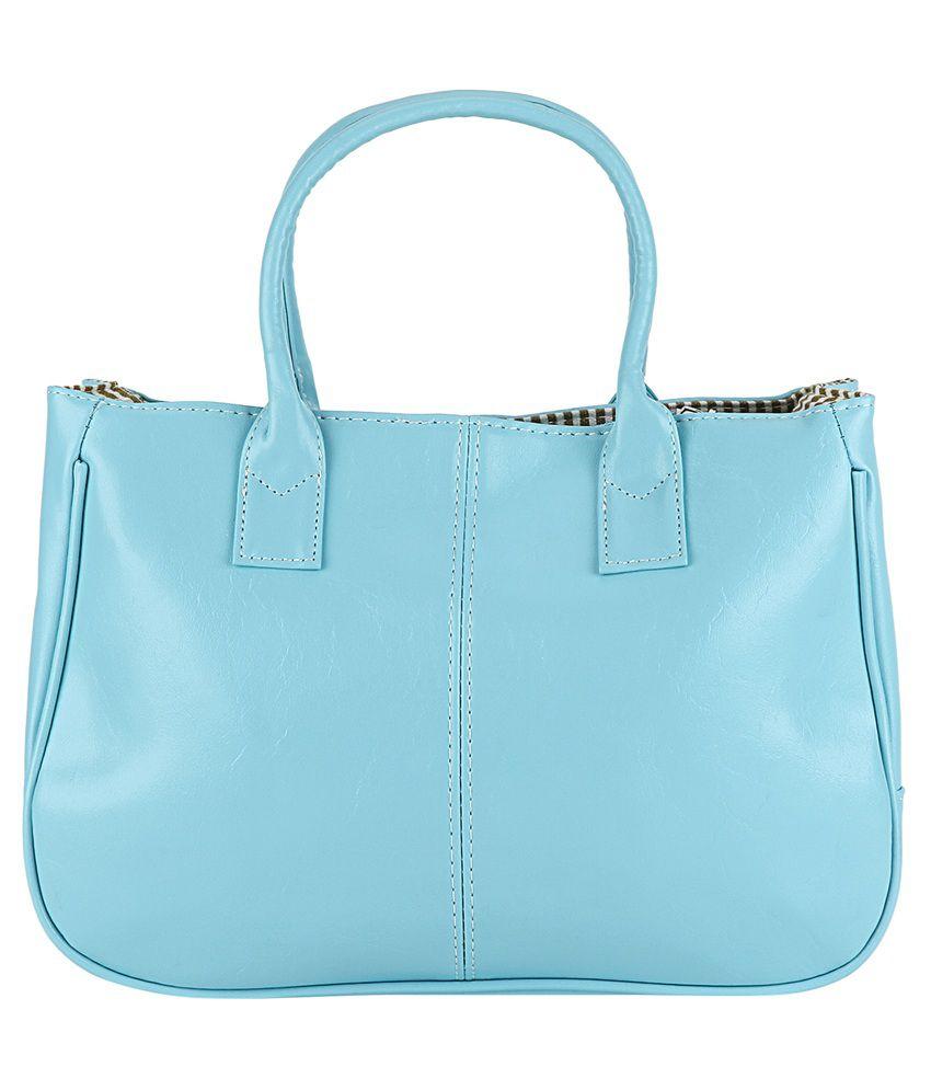 Bling It On Blue Shoulder Bag