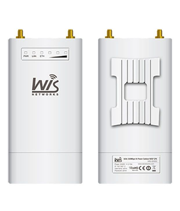 Wisnetworks WIS-S5300 WiFi Hot Spot 300 Mbps 5.8GHz TDMA Base Station Radio