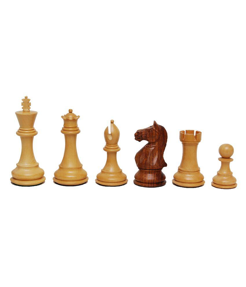 Best Chess Wooden Chessmen In Boxwood and Sheesham Wood