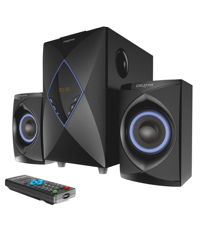 Creative Usb Speakers 2.1 Computer Speakers Black