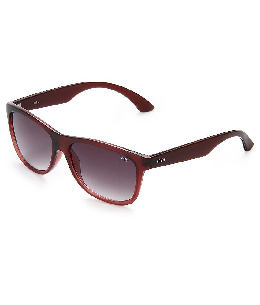 Idee NIDS1990C5 Purple Wayfarer Sunglasses