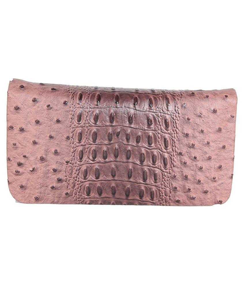 Lee Italian Brown Regular Wallet For Women