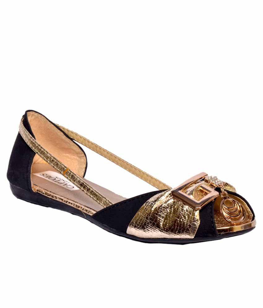 Captoes London Black Flat Sandals